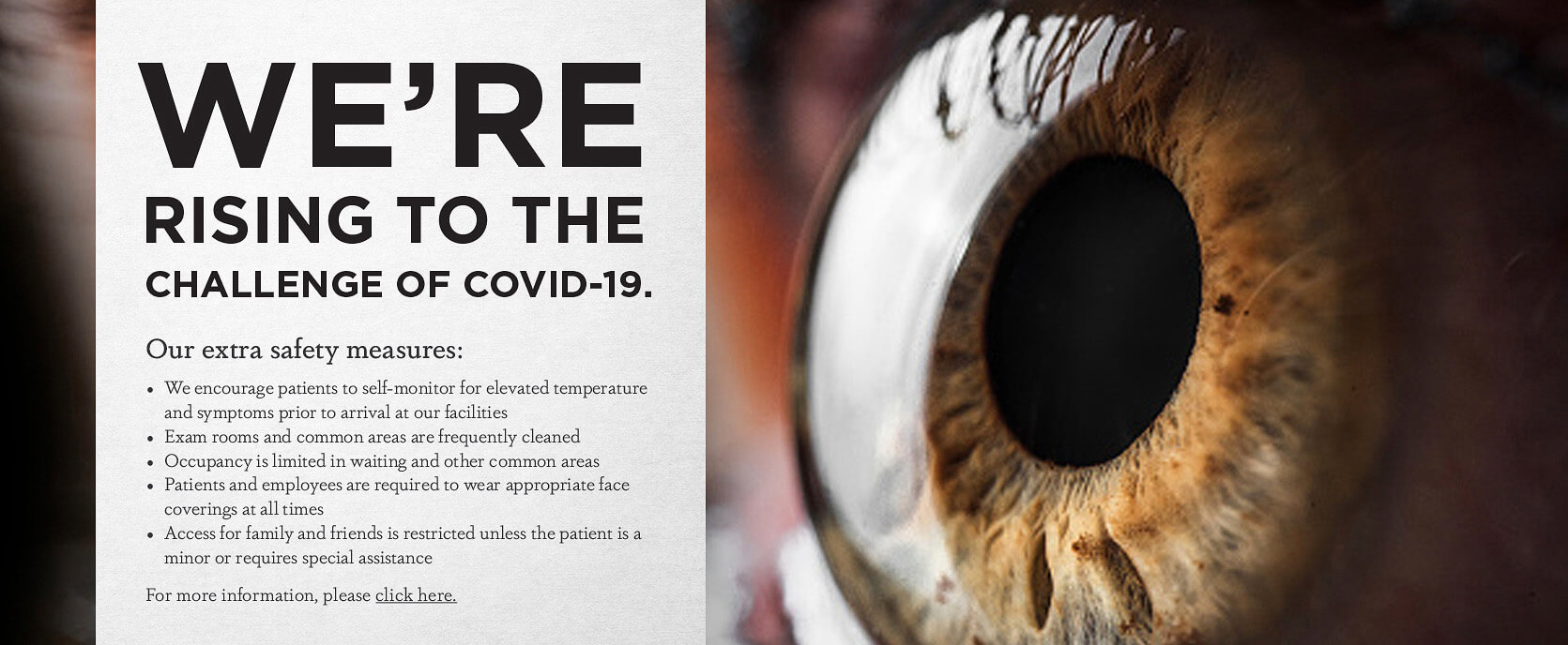 Click Here for COVID-19 Information