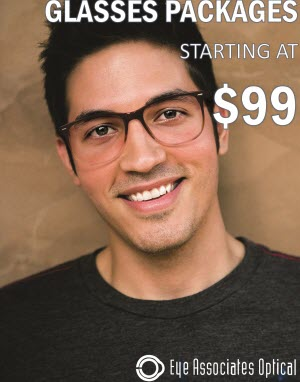 Eyeglasses Packages Starting at $99